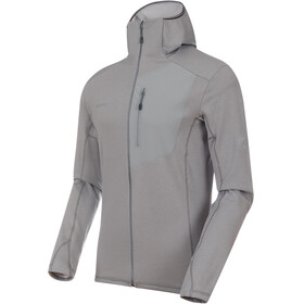 Mammut Aconcagua Light ML Hooded Jacket Men granit mélange